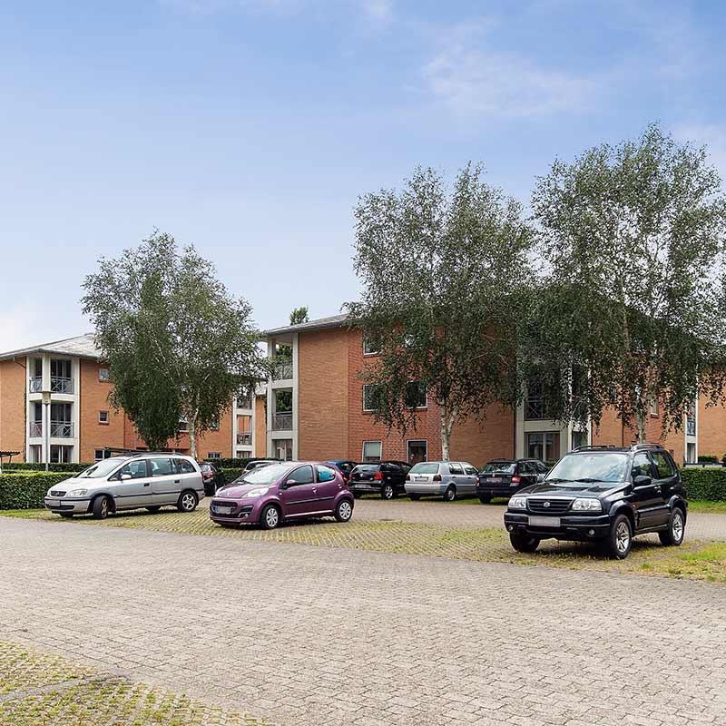 Nørreparken Herning - P-Plads